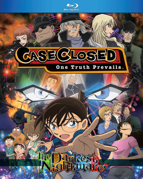 Case Closed The Darkest Nightmare Blu-ray