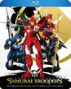 Samurai Troopers Ronin Warriors Blu-ray
