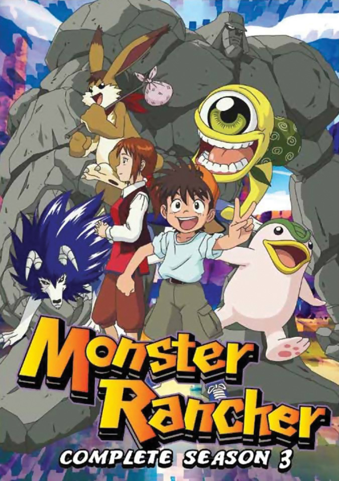 Monster Rancher Season 3 DVD 875707027090
