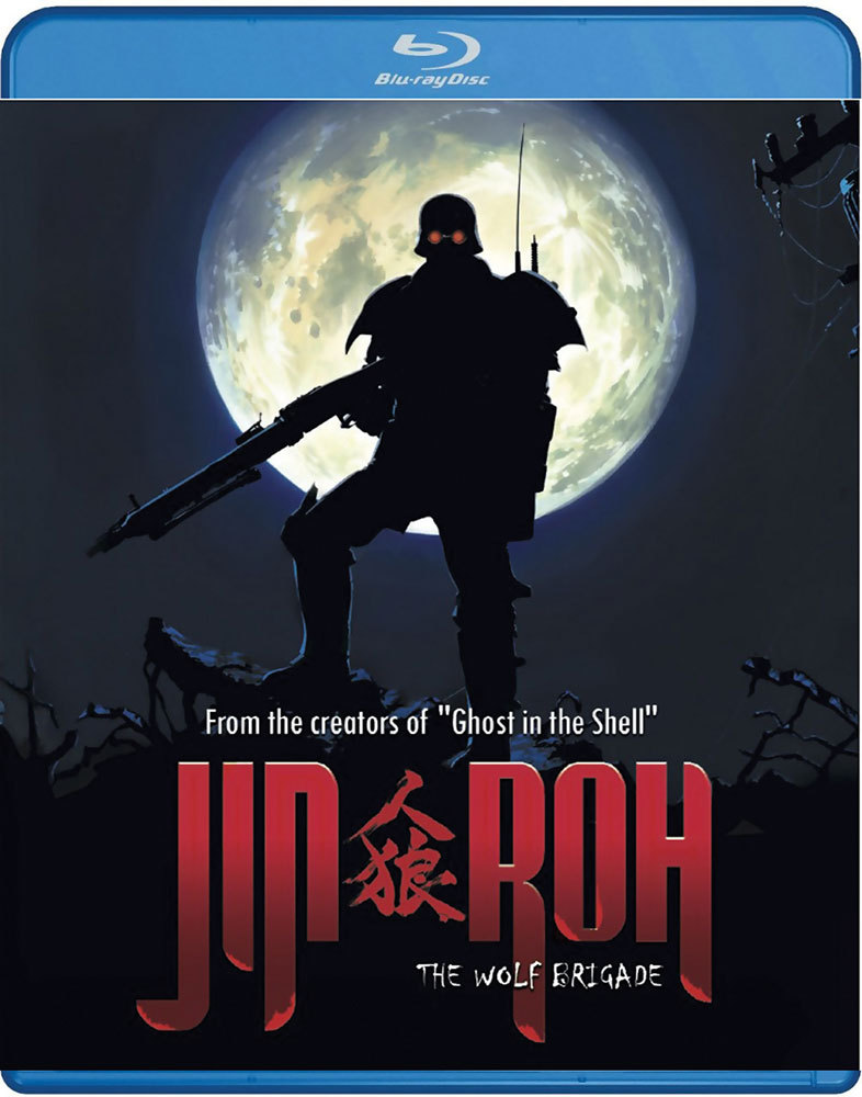 Jin-Roh The Wolf Brigade Blu-ray 875707032025