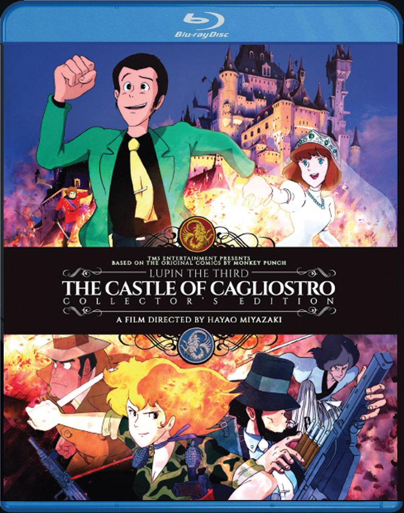 Lupin the 3rd The Castle of Cagliostro Collector's Edition Blu-ray