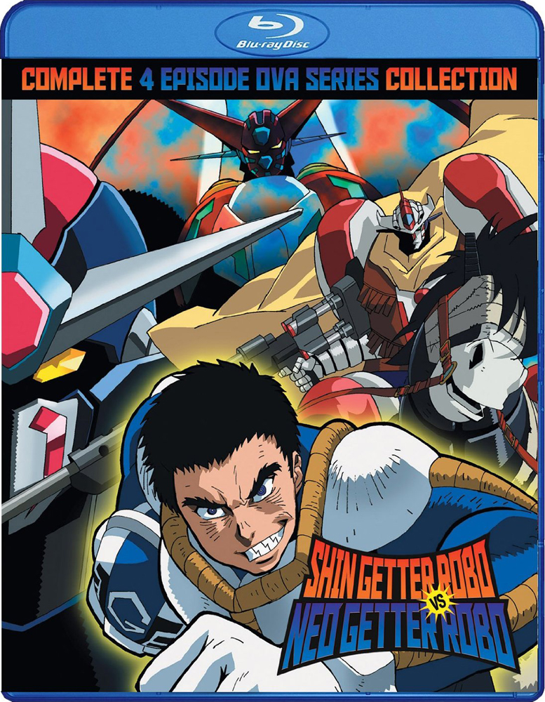 Shin Getter Robo vs Neo Getter Robo OVA Blu-ray 875707057097