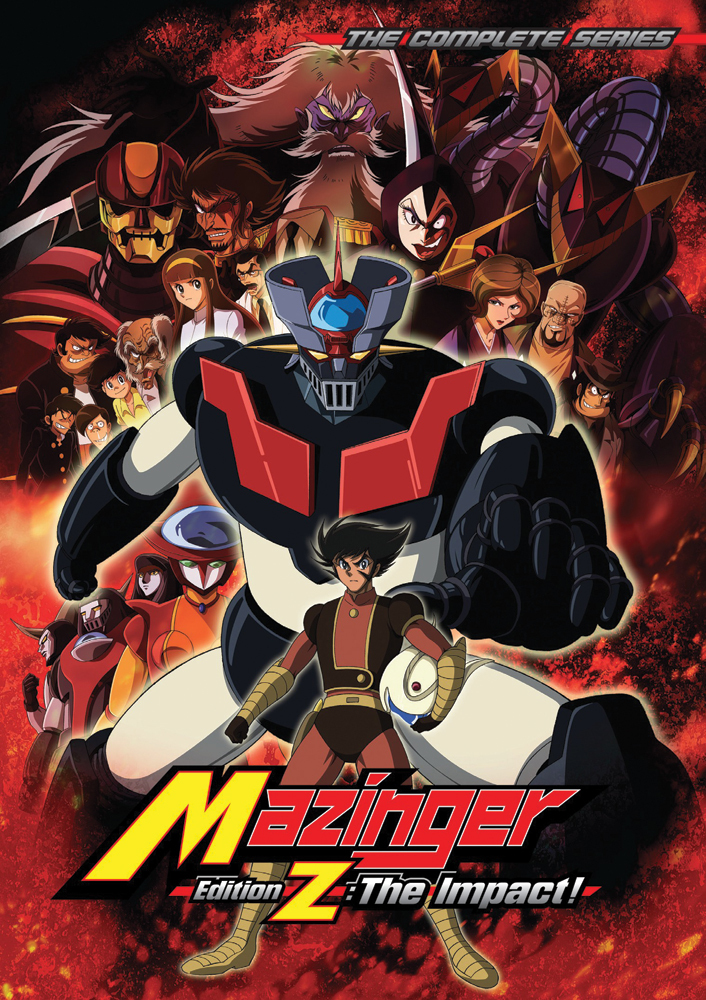 Mazinger Edition Z The Impact Complete Series DVD 875707058025
