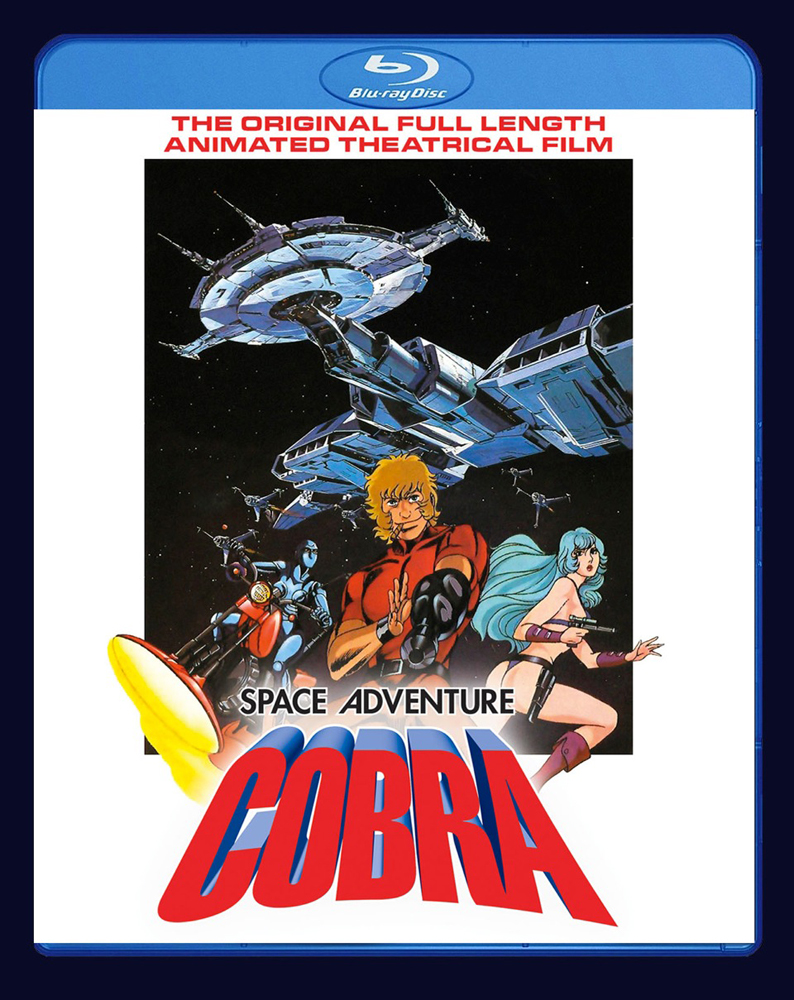 Space Adventure Cobra The Movie Blu-ray 875707063098