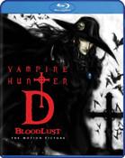 Vampire Hunter D Bloodlust Blu-ray