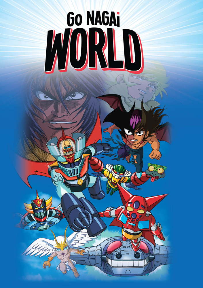 Go Nagai World OVAs DVD 875707070027