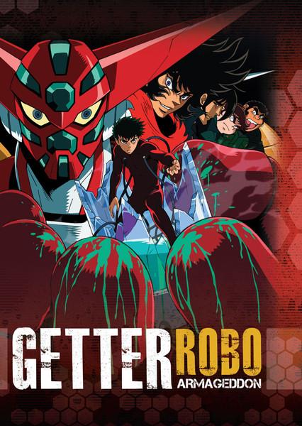 Getter Robo Armageddon DVD