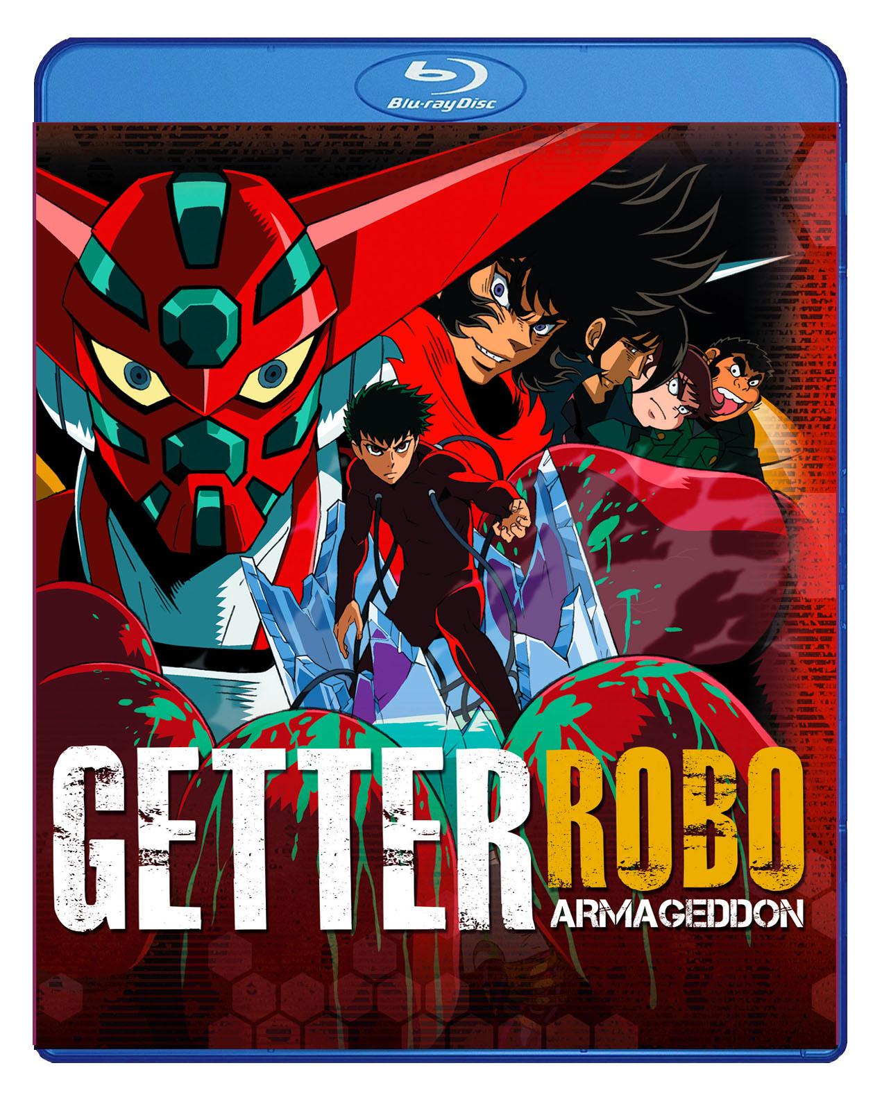 Getter Robo Armageddon Blu-ray 875707084024