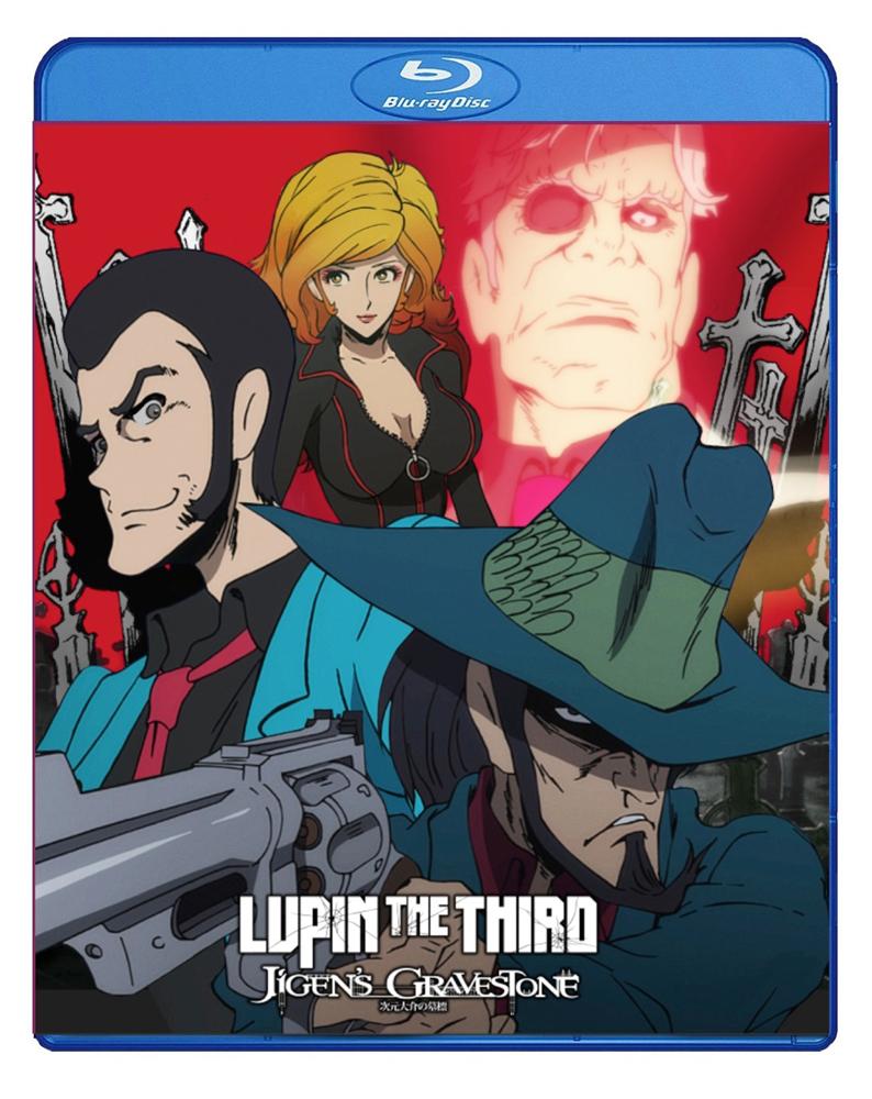 Lupin the 3rd Jigen's Gravestone Blu-ray 875707093095