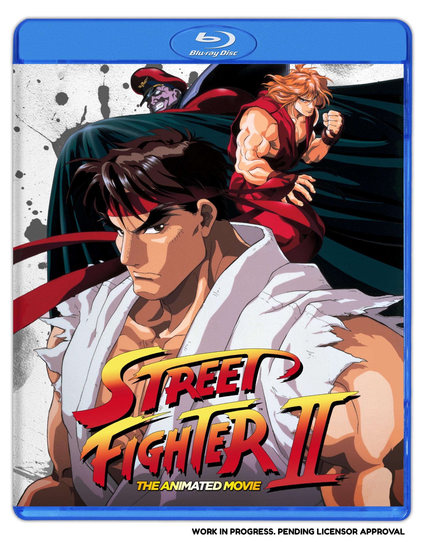 Street Fighter II The Animated Movie Blu-ray 875707096027