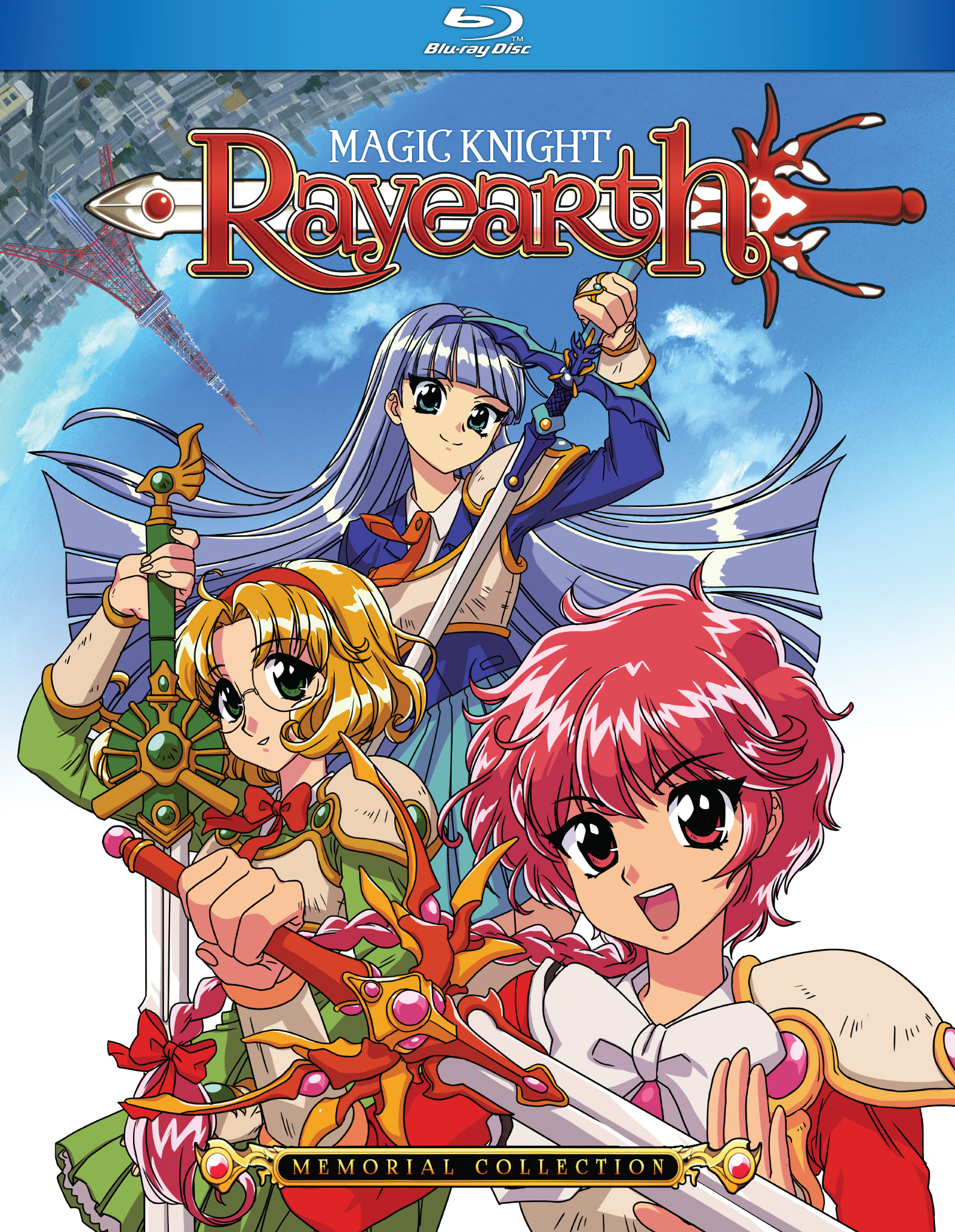 Magic Knight Rayearth Complete Collection Blu-ray 875707097093