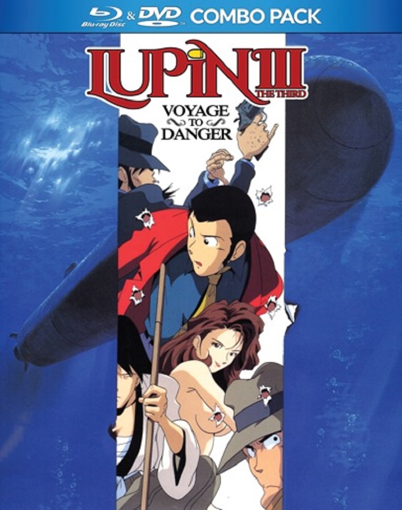 Lupin the 3rd Voyage to Danger Blu-ray/DVD 875707114028
