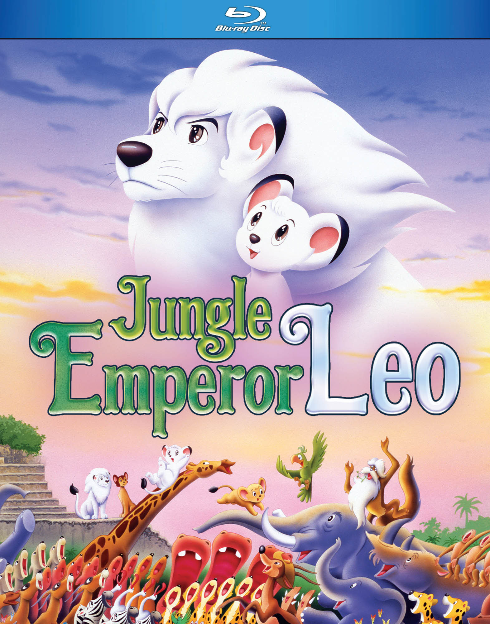 Jungle Emperor Leo Blu-ray 875707123099