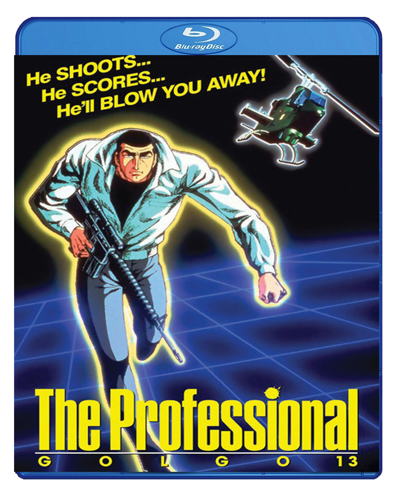 Golgo 13 The Professional Blu-ray 875707133098