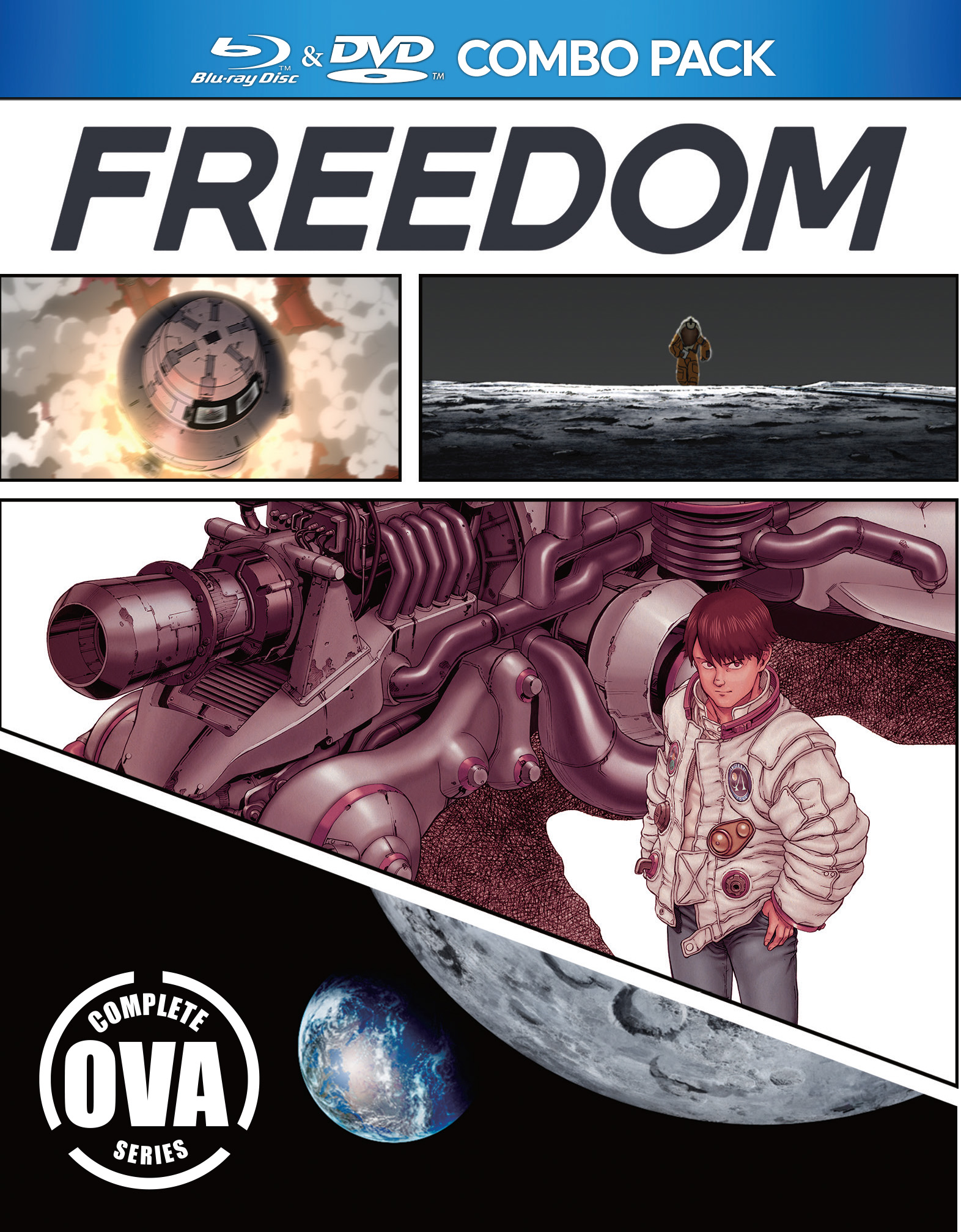 Freedom OVA Blu-ray/DVD 875707139090