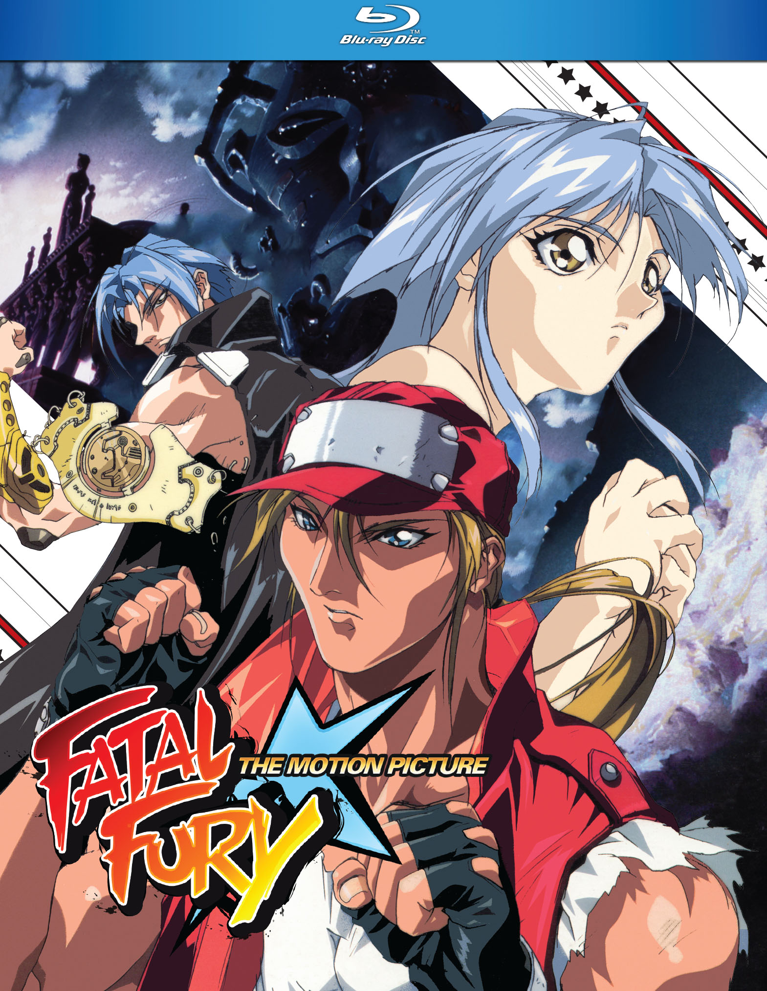 Fatal Fury The Movie Blu-ray 875707149099