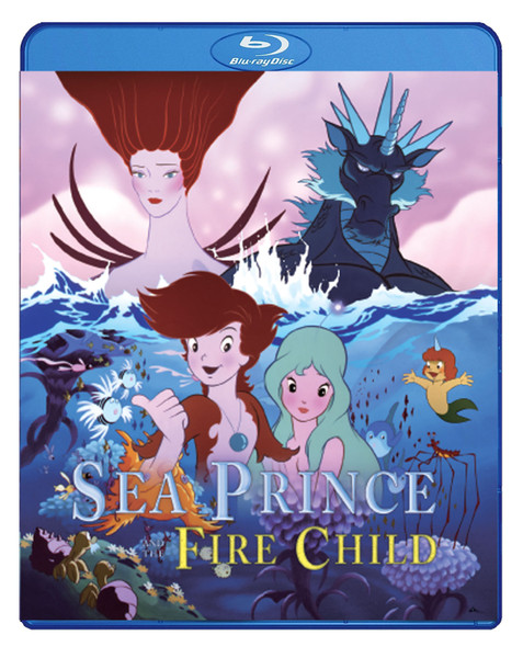 Sea Prince and the Fire Child Blu-Ray
