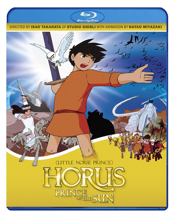 Horus Prince of the Sun Blu Ray 875707151092
