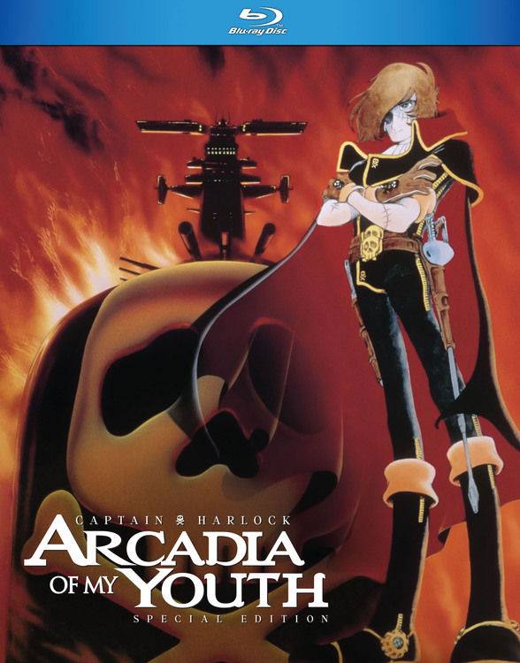 Captain Harlock Arcadia of My Youth Blu-Ray 875707154024