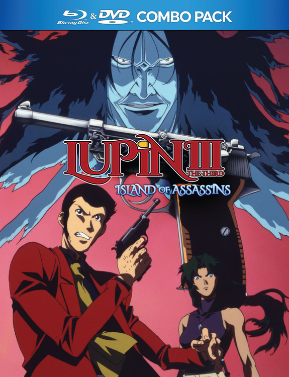 Lupin the 3rd Island of Assassins Blu-Ray/DVD 875707159098