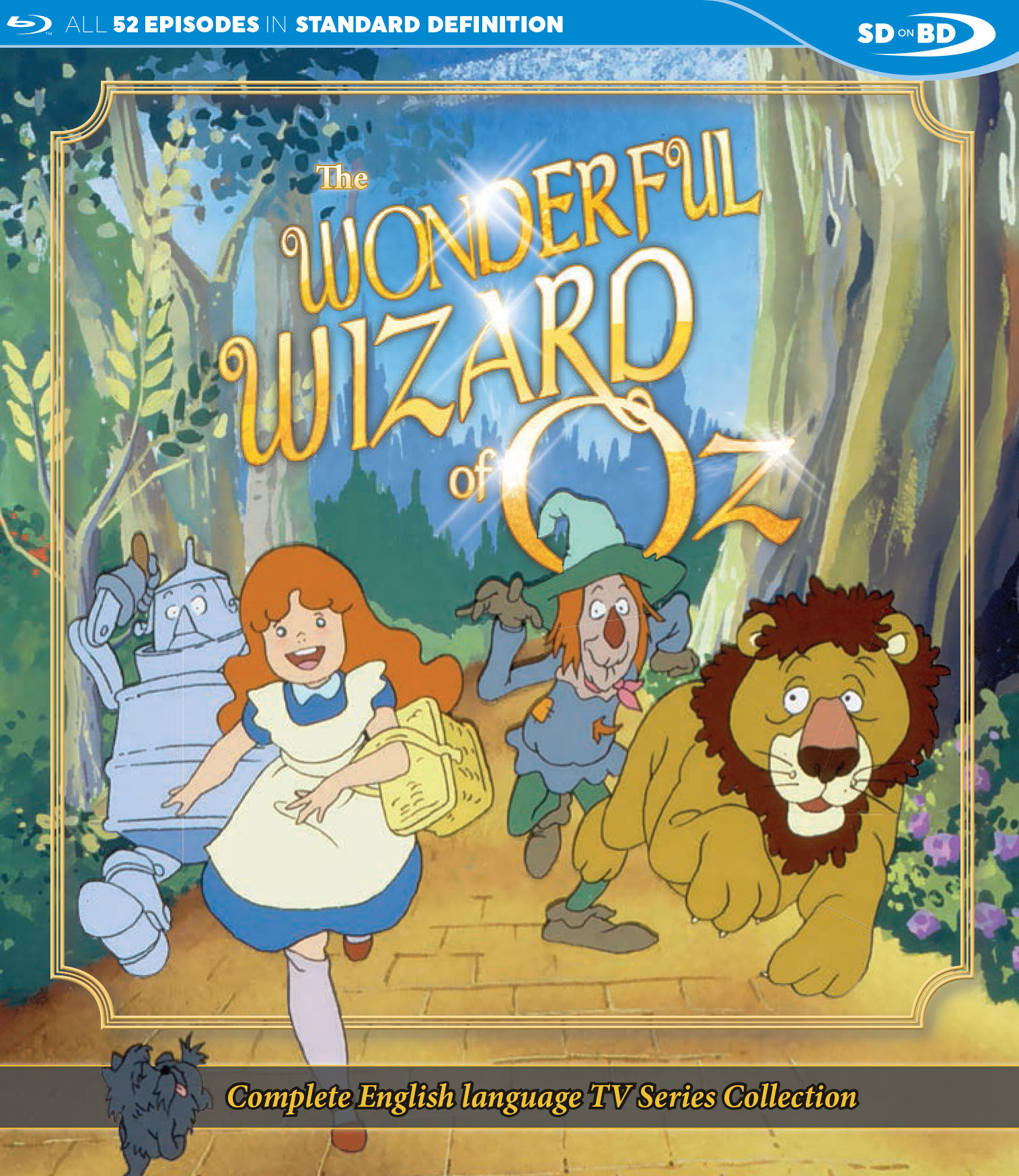 The Wonderful Wizard of Oz Blu-ray 875707197090