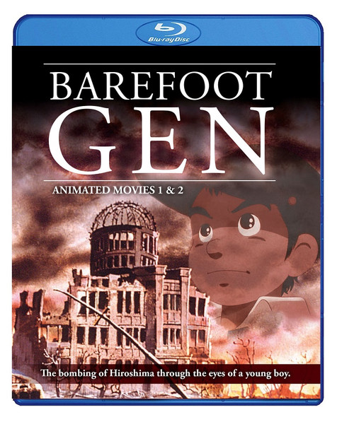 Barefoot Gen Movies 1-2 Blu-ray