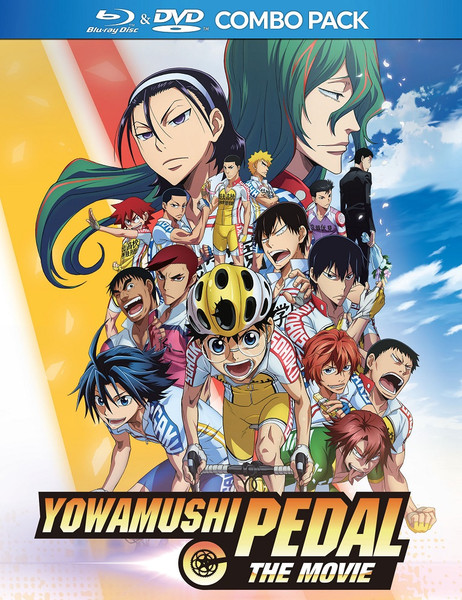 Yowamushi Pedal The Movie Blu-ray/DVD