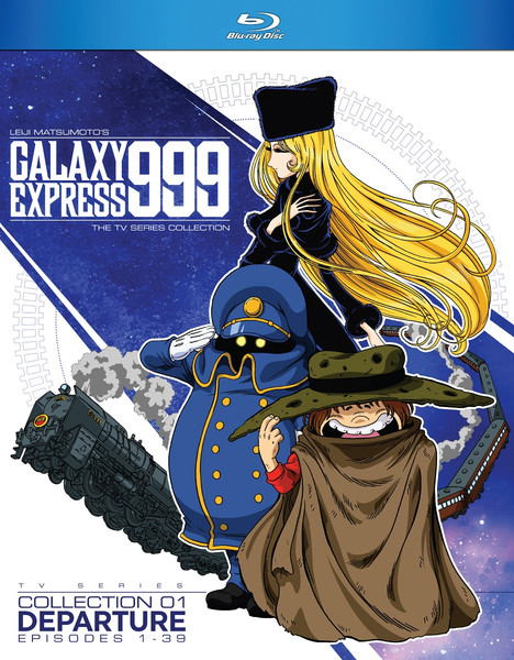 Galaxy Express 999 TV Series Collection 1 Blu-ray