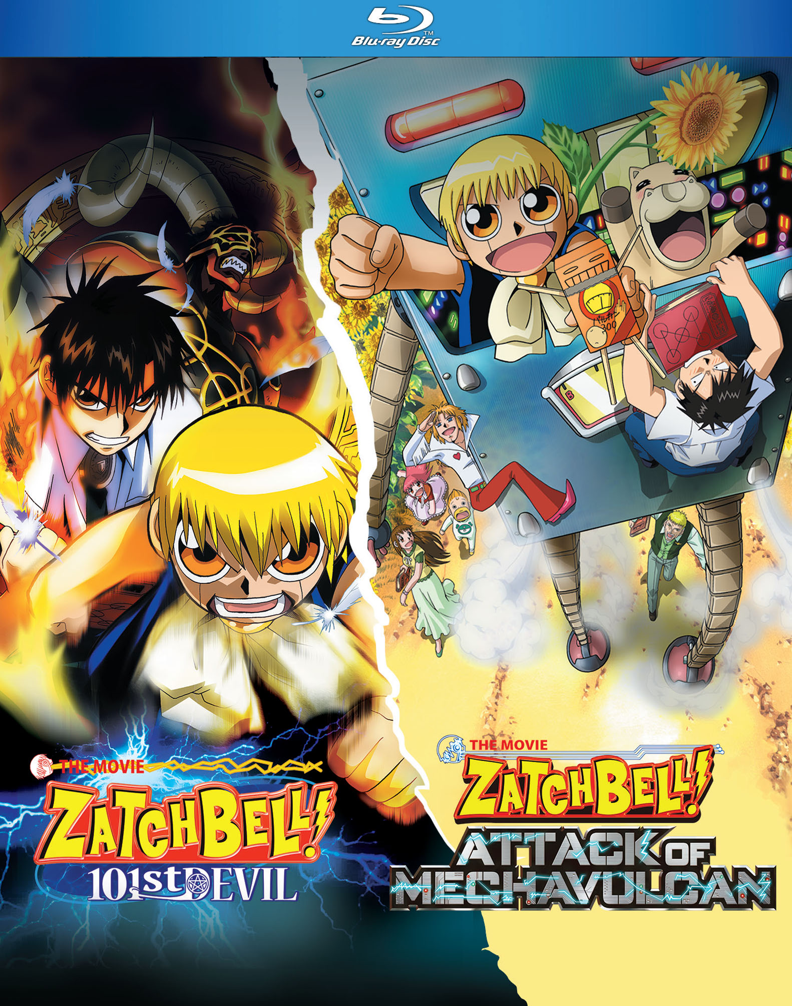 Zatch Bell Movies Blu-ray 875707219099