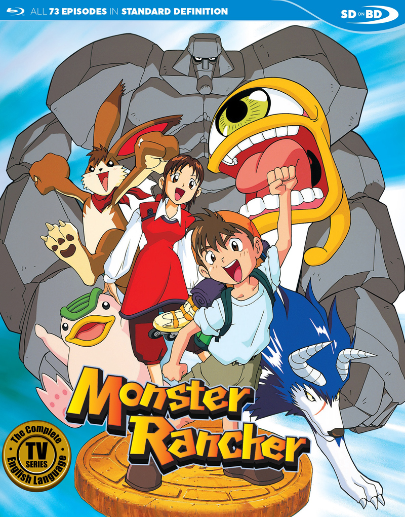 Monster Rancher English Collection Blu-ray 875707240024
