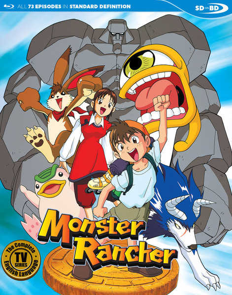 Monster Rancher English Collection Blu-ray