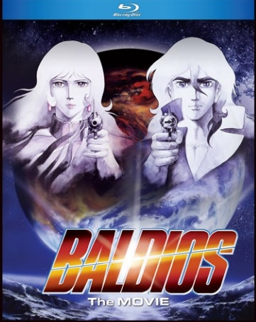 Space Warrior Baldios The Movie Blu-ray 875707280020