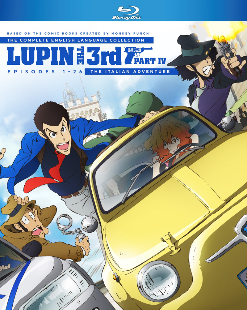 Lupin the 3rd Part IV Blu-ray 875707300025