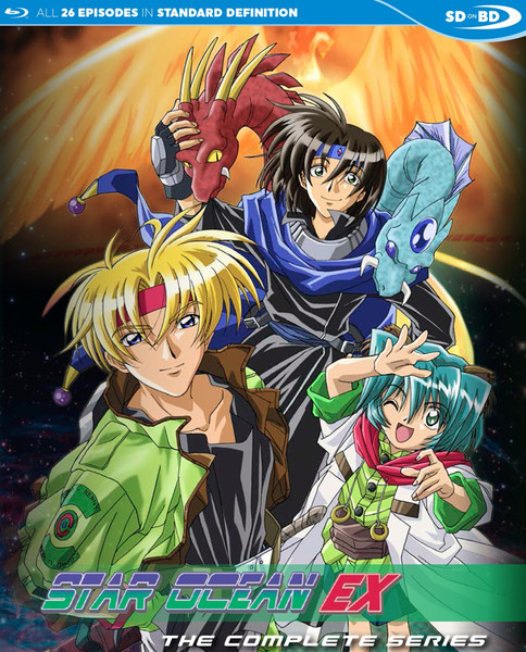 Star Ocean EX The Complete Series Blu-ray