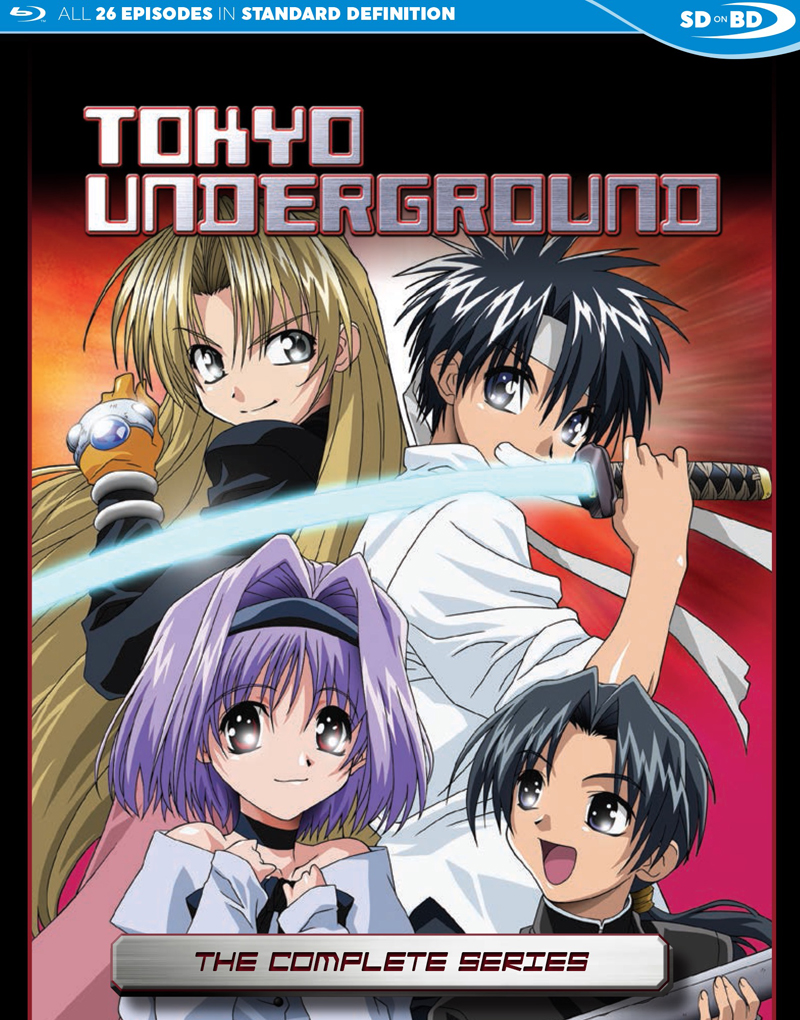 Tokyo Underground The Complete Series Blu-ray 875707330091