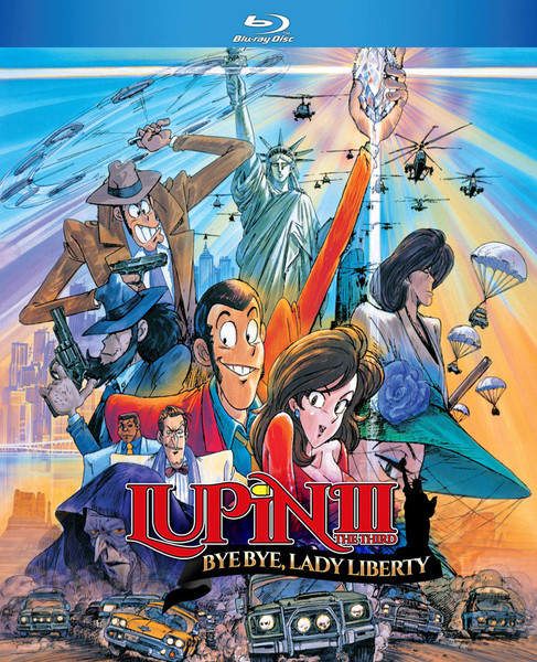 Lupin the 3rd Bye Bye Lady Liberty Blu-ray