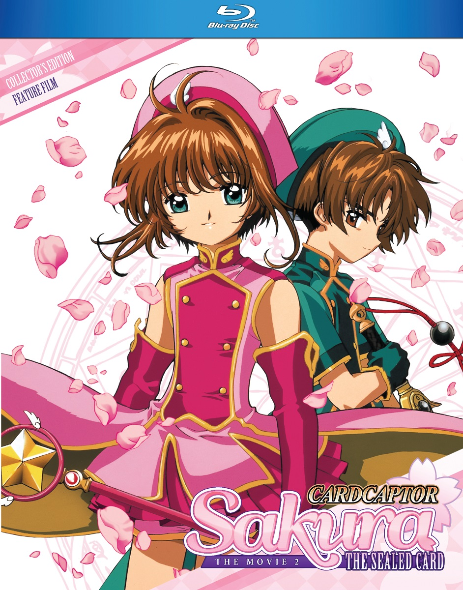 Cardcaptor Sakura Movie 2 The Sealed Card Blu-Ray 875707410090