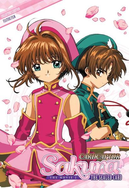 Cardcaptor Sakura Movie 2 The Sealed Card DVD