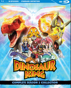 Dinosaur King Season 2 Blu-ray