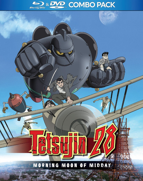 Tetsujin 28 Morning Moon of Midday Blu-ray/DVD