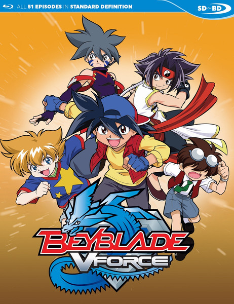 Beyblade V-Force Blu-ray