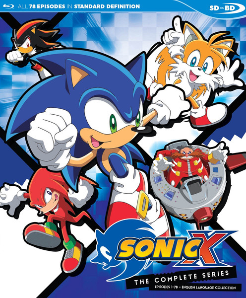 Sonic X Complete Series Blu-ray