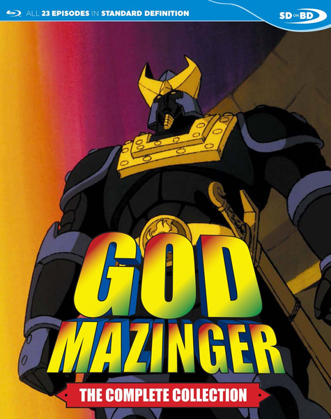 God Mazinger Blu-ray