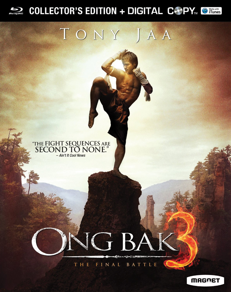Ong Bak 3: The Final Battle Collector's Edition Blu-ray 876964003650