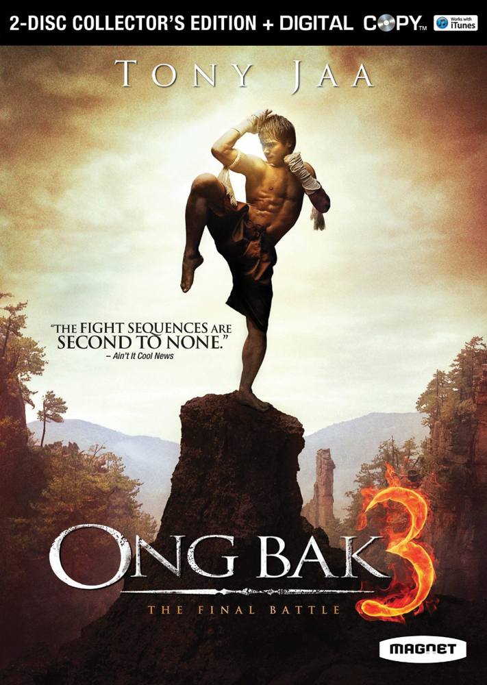 Ong Bak 3: The Final Battle Collector's Edition DVD 876964003759