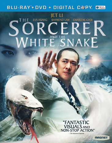The Sorcerer and the White Snake Blu-ray/DVD 876964005463