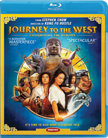 Journey to the West Conquering the Demons Blu-ray 876964006644
