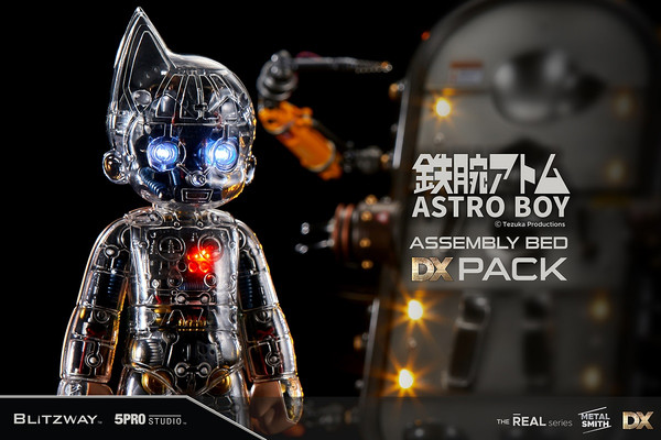 Astro Boy Clear Assembly Bed DX Ver Blitzway Superb Figure