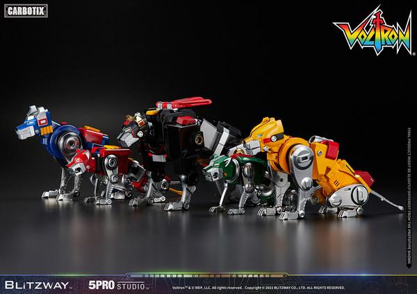 Voltron 5Pro Studio CARBOTIX Series Voltron Figure