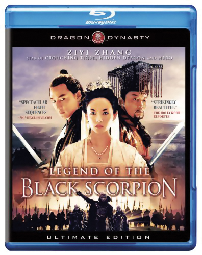 Legend of the Black Scorpion Blu-ray 883476027081
